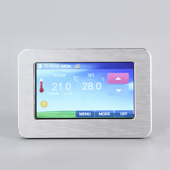 Manufacturers economical color touch screen room thermostat