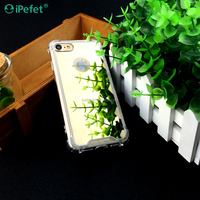 New Arrival Clear Shockproof Bumper Mirror Phone Case Back Cover For iPhone 7