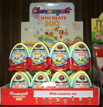 Surprise Chocolate Egg With Biscuits Type Kinder 20g