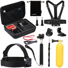 2017 High Quality Action Camera Gopros Heros 5/4 Accessories set, accessories kit for Gopros heros
