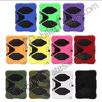Shockproof Silicone+PC Hard Stand Case Cover for Samsung Galaxy Tab 3 10.1/ GT-P5200 P5210