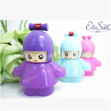 OEM&ODM cartoon 5ml perfume spray bottle/design your own perfume bottle cap/cute empty cosmetic bottle