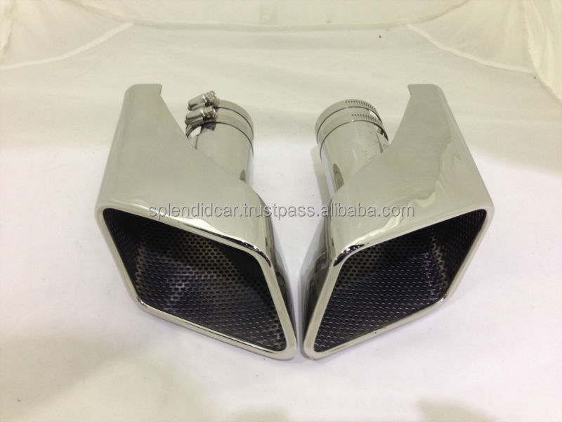 Automobile plating exhaust muffler tail for Range Rover petrol version
