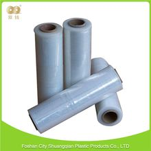 Fashionable durable white ldpe black stretch film