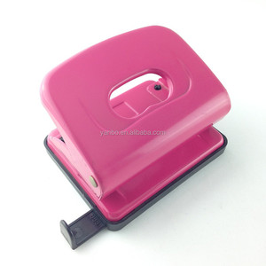 Office stationery square hole paper punch, metal square hole punch