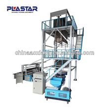 Good transparency quality plastic roll making casting blown film extrusion machine