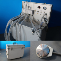 Portable Dental Unit With Air Compressor