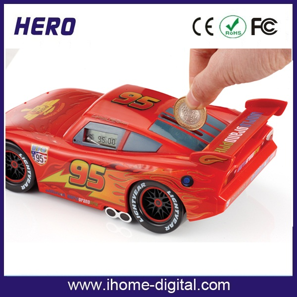 OEM/ODM artificial cake piggy bank plastic piggy bank for promotion Suitable for all coins