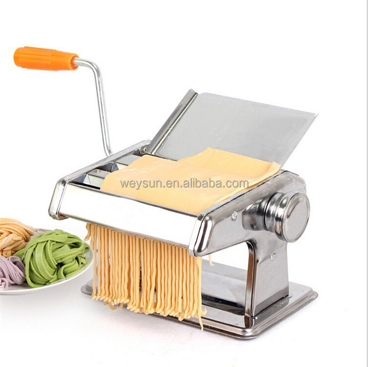 Craft pasta machine with two blades& Soft metal sheets Polymer clay machine for Rolling dough Fimo roller Dough rolling