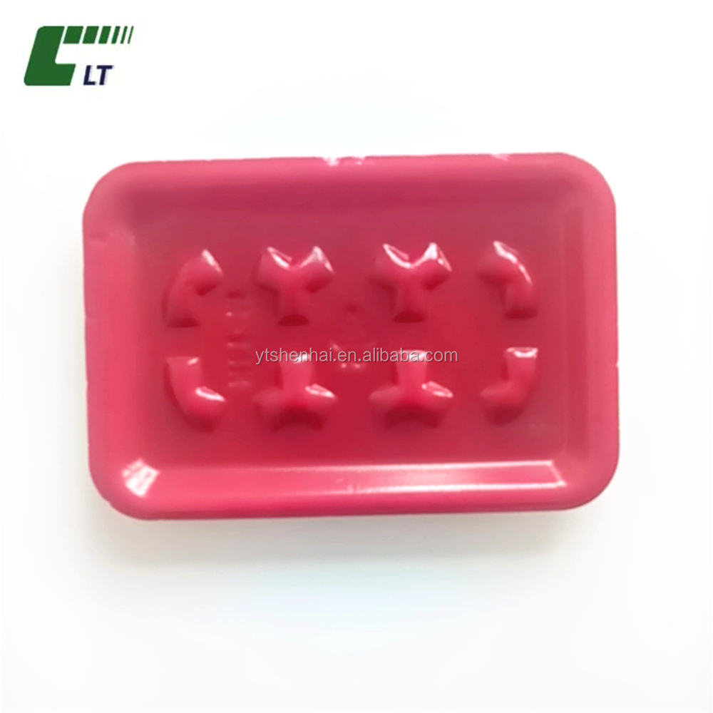 plastic dispoable fruit blister packaging container for tomato,strawberry ,cherry fruit
