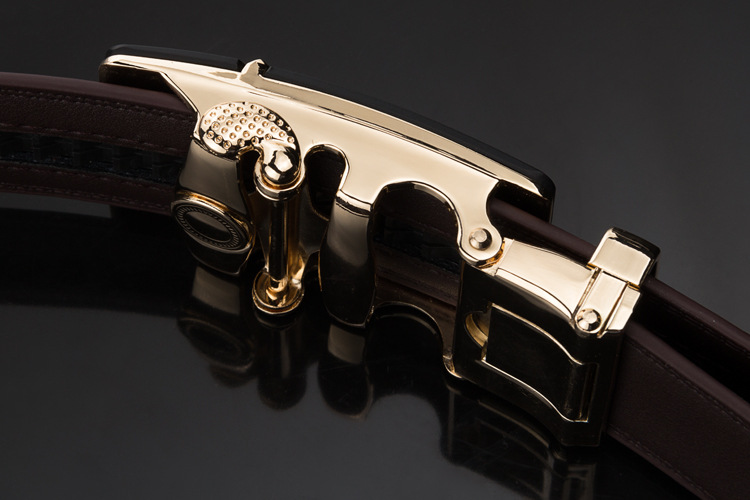 Hot selling men leather belt, genuine leather belt for men
