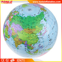 new design commercial inflatable earth globe beach ball for games