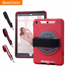 Top Quality 360 Degree Rotating hand strap for ipad mini 2 back cover