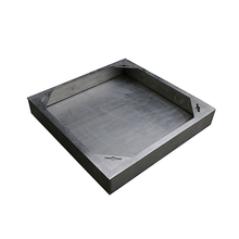 stainless steel standard size invisible manhole cover