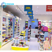 Shopping Mall Kids Clothes Store Interior Decoration Retail Clothing Baby Clothing Design