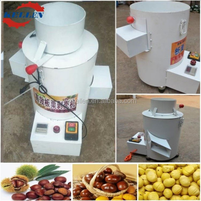Advanced design and hygienic chestnut shelling machine chestnut peeler