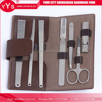 Nail Clipper Sets Men , Manicure Set With 8Pcs Tools , Promotional Girl Manicure Set