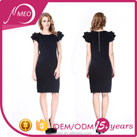 Promotional cheap top grade casual dress plus size women clothing