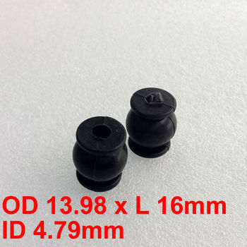 14x16mm Vibration Isolation Dampeners For Aerial Photographing FPV Camera PLT