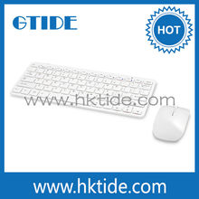 Hot selling 2.4G RF wireless bluetooth keyboard and mouse for computer pc