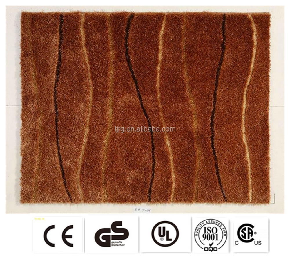 luxury exhibition quality customized chinese wool silk rug