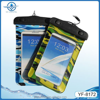 China wholesale fashion Mobile Phone Pvc Waterproof Bags for All 4.8-5.5inch screen phones for swimming boating rafting