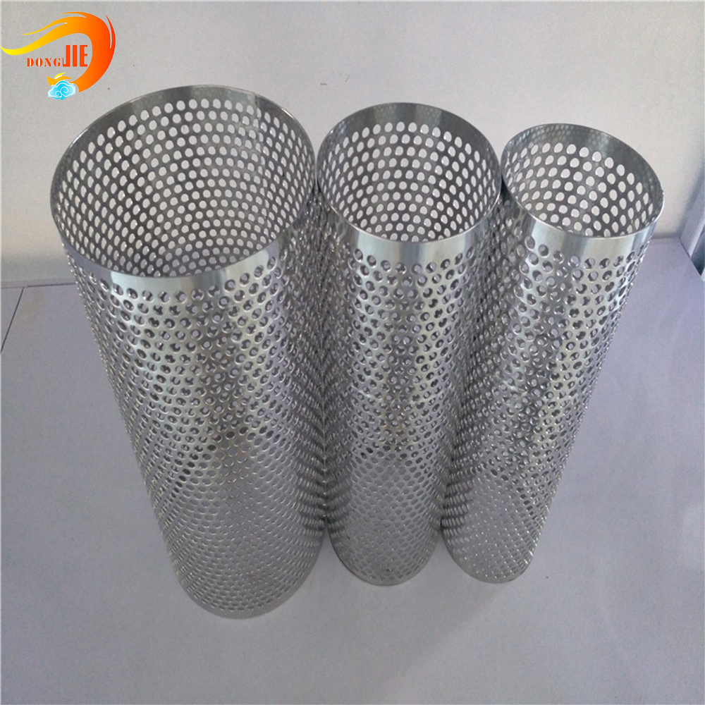 food punched filter tube