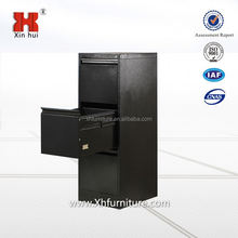 Best selling china manufacture black color metal file cabinet