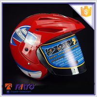 High quality unique red China ABS motorcycle helmets