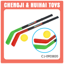 Kids sport toys shinny plastic hockey stick ice hockey game