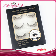 Kimberlyhair New Product In Alibaba Express Real Mink Eyelashes l Curl Eyelash Extension