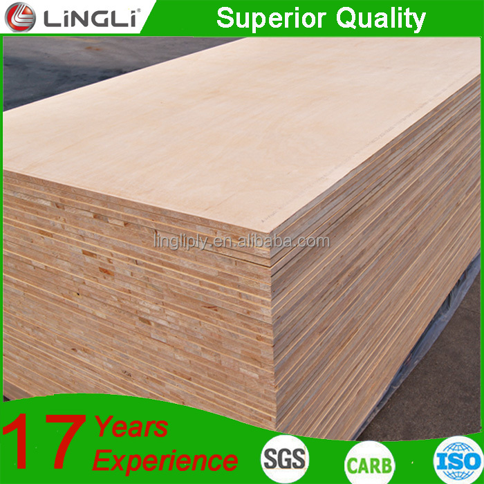 Factory price 18mm furniture used falcata core block board