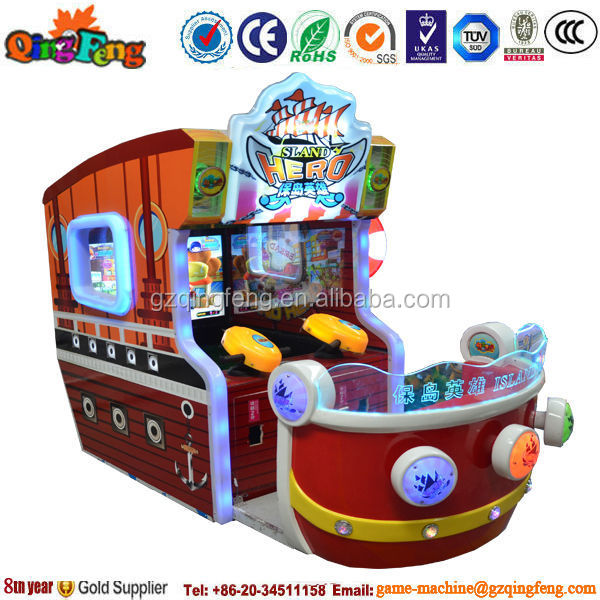 5%-10% Discount indoor arcade water shooting gamesMS-QF339 Island hero
