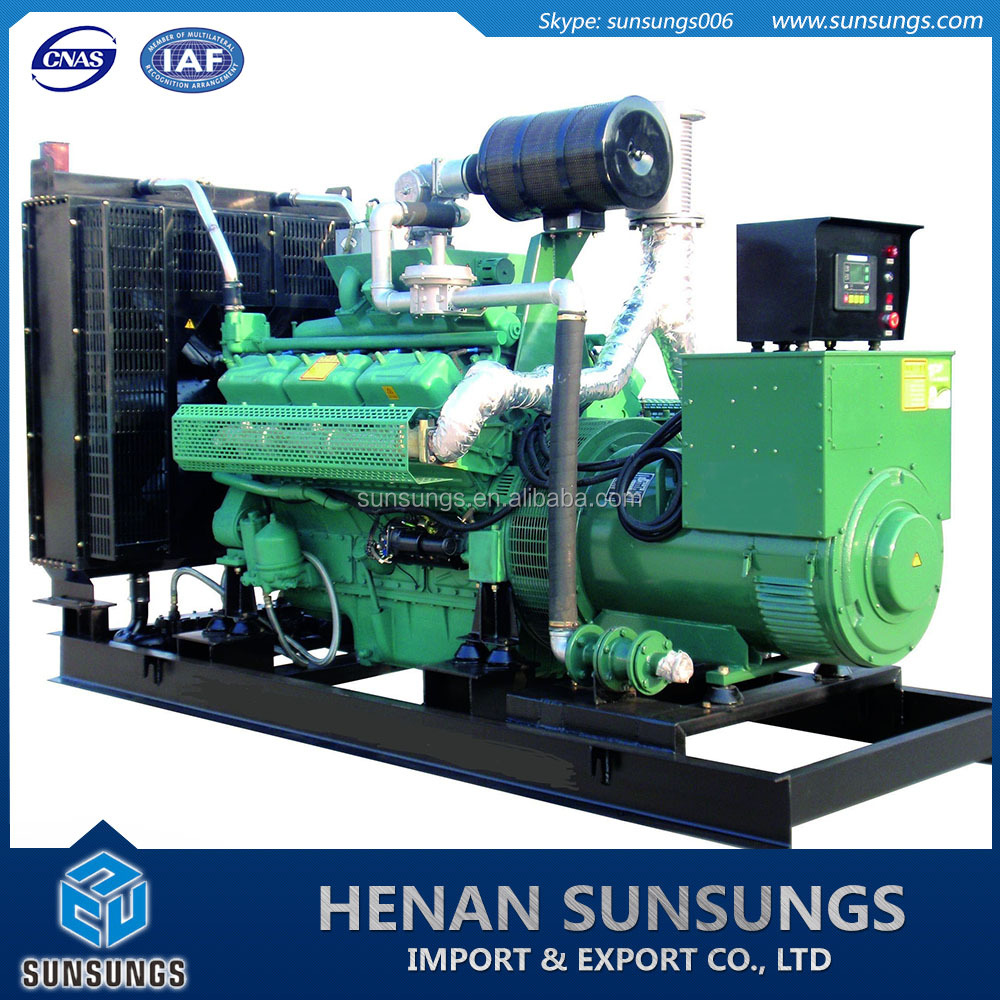 water cooling biogas gas generation unit
