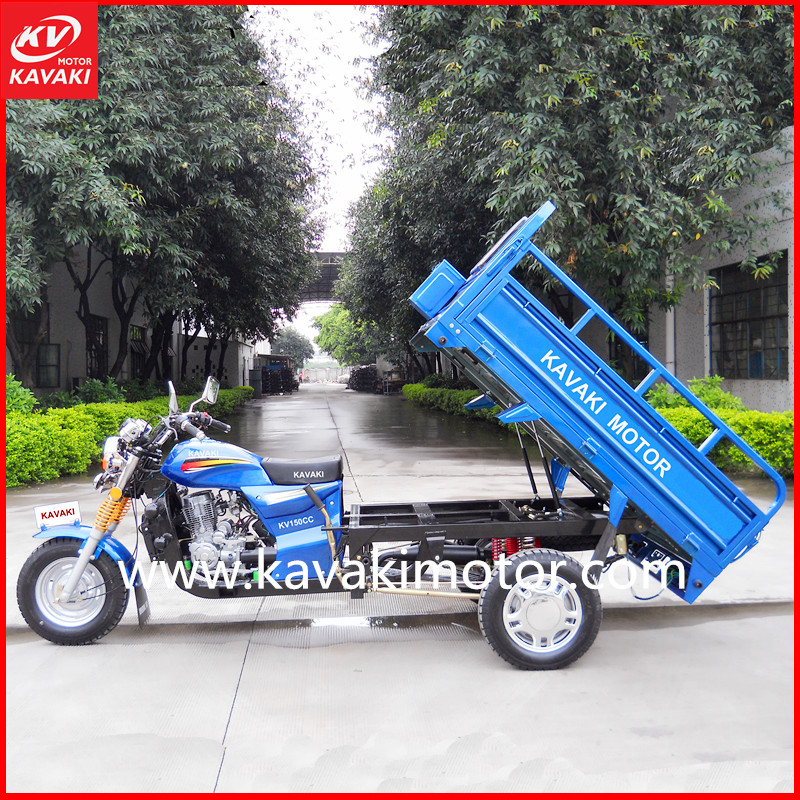 Wuyang Model Three Wheeler Adult Electric Motor Bike Using Petrol Engine Air-cool