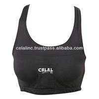 Sports Bra Chest Guard with Plastic Cups