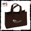 Ultrafine promotional non woven bag, bulk reusable shopping bags, nonwoven fabric polyester foldable shopping bag
