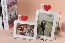 2015 Customized wooden love photo picture frame