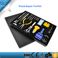 20 pcs Watch Horologe Repair Tool Kit Set With Opener Remover Wrench Screwdriver Watchband Link Pin Remover