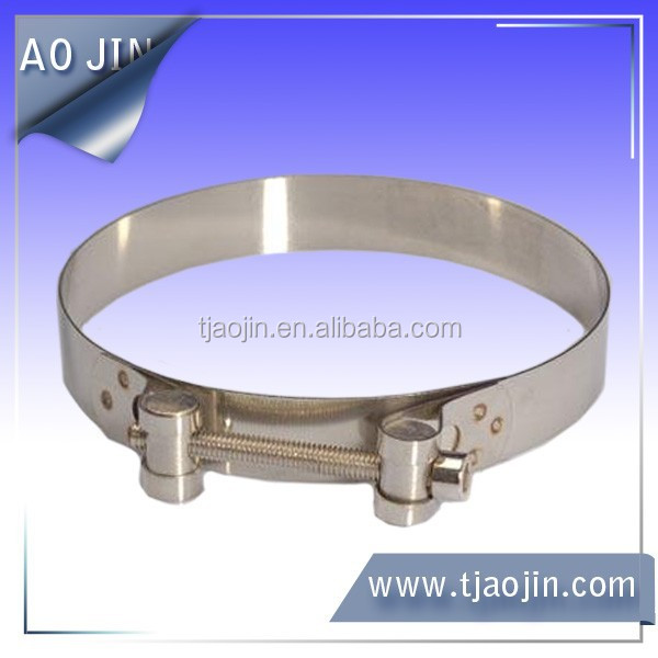 Stainless steel European power,Super clamp,Large torsion hose clamp