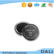 Lithium Button Cell Cr2016 Battery 3v 90mah Bulk Tray Pack