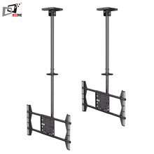 High Quality Retractable Hanging Ceiling Mount TV Stand With Cable Management