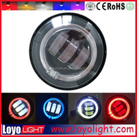 hottest selling 4.5 inch 30W LED fog light fog lamp with angel eyes for Harley