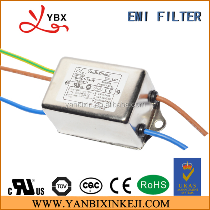 Single Phase ul TUV Certificate Noise Filter 1a