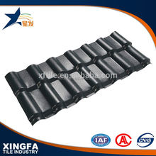 Good sound insulation synthetic resin roofing cover material for villa construction