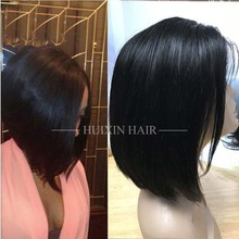 Brazilian virgin human hair wig,availbel lace front and full lace curly bob wig