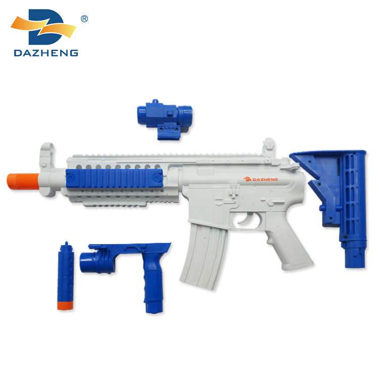 Modern unique M4A1-X music flashlight electronic weapon plastic toys gun for wholesale