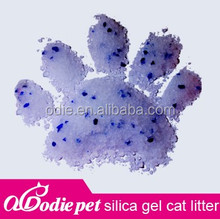 top classic quanlity silica gel cat litter /crystal kitty litter with apple, lemon, orange ...