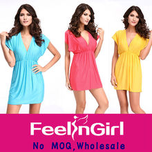 wholesale cheap party women casual beach dresses 2012 plus size