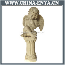Made in china most popular metal angel figurines